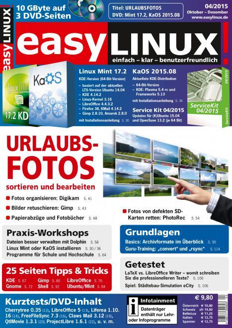 EasyLinux Einzelhefte